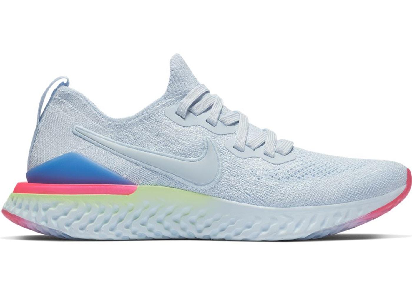 c4f2d63b35e1 Nike Epic React Flyknit 2 Hydrogen Blue Sapphire Hyper Pink (W ...