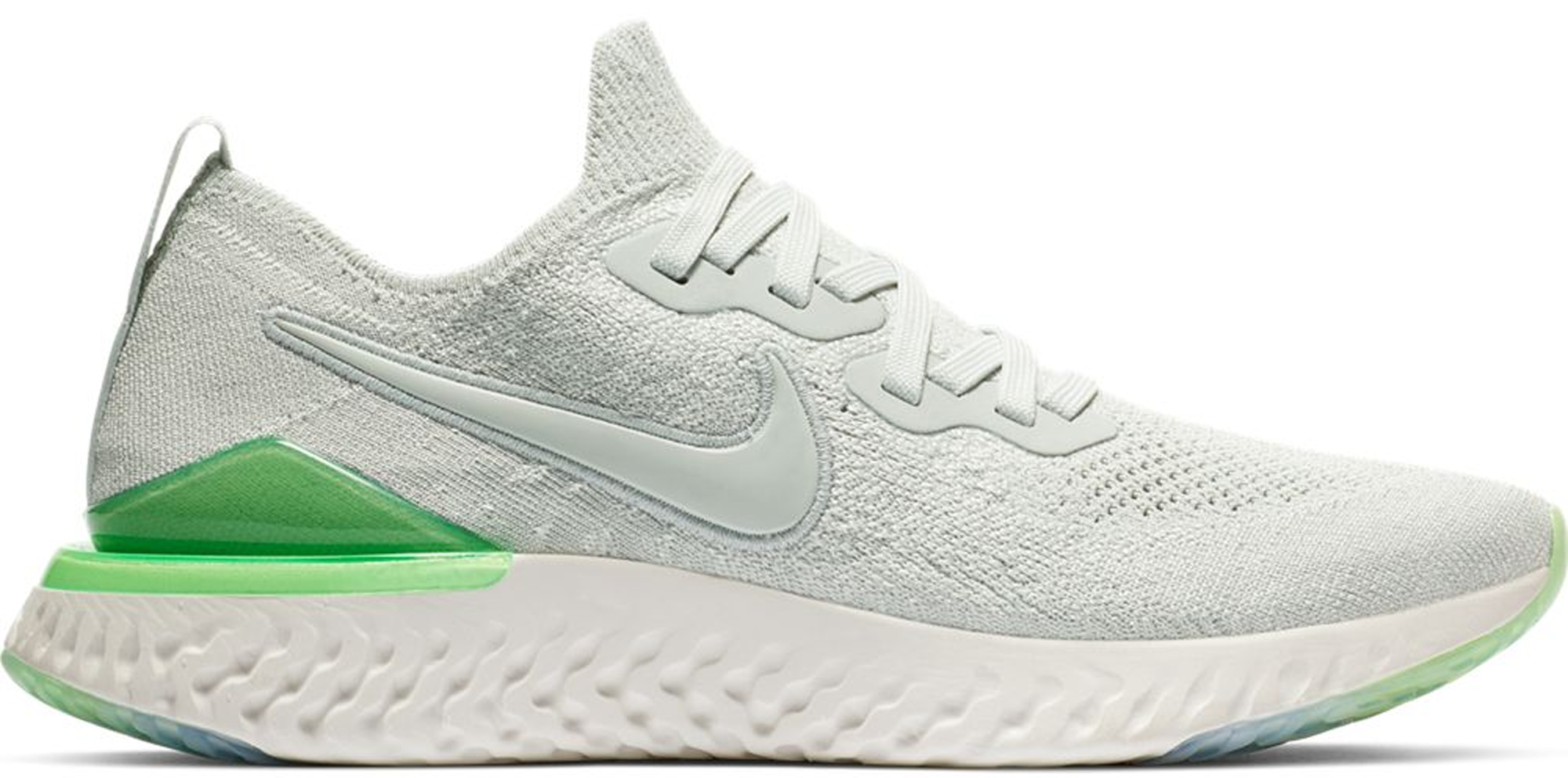 Nike Epic React Flyknit 2 Light Silver