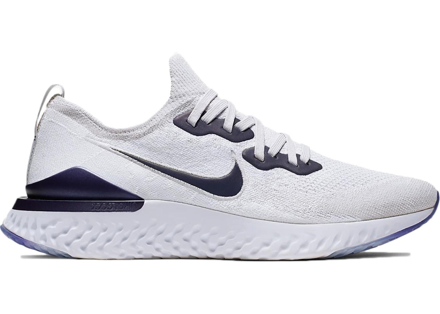seco Barrio bajo aluminio  Nike Epic React Flyknit 2 Vast Grey - CK0836-001