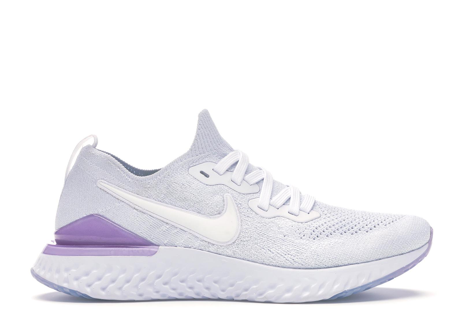Nike Epic React Flyknit 2 White Pink