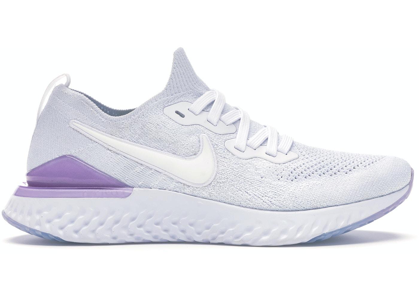 Nike Epic React Flyknit 2 White Pink Foam (W) - BQ8927-101