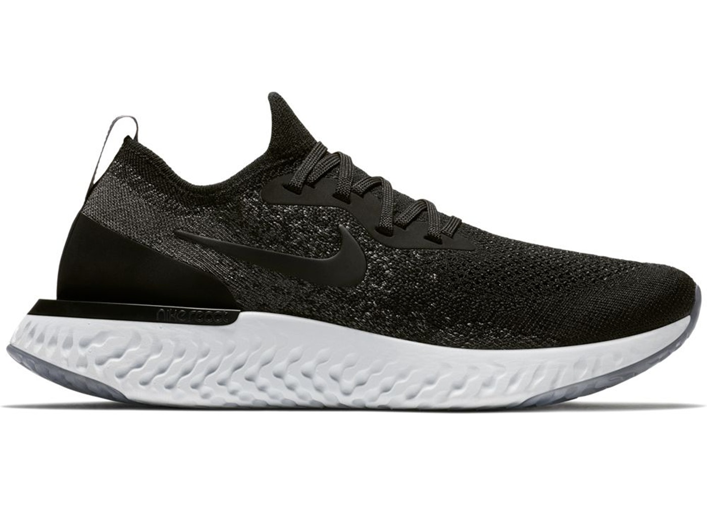 new product c8081 499f3 Sell. or Ask. Size  8W. View All Bids. Nike Epic React Flyknit Black Dark  Grey ...