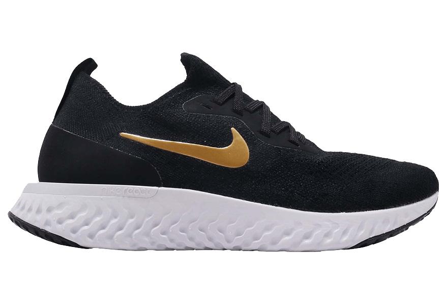 Nike Epic React Flyknit Black Gold (W
