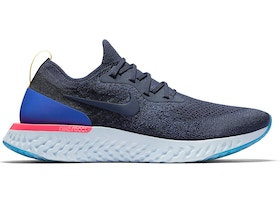 52b1574053ae Nike Epic React Flyknit College Navy - AQ0067-400