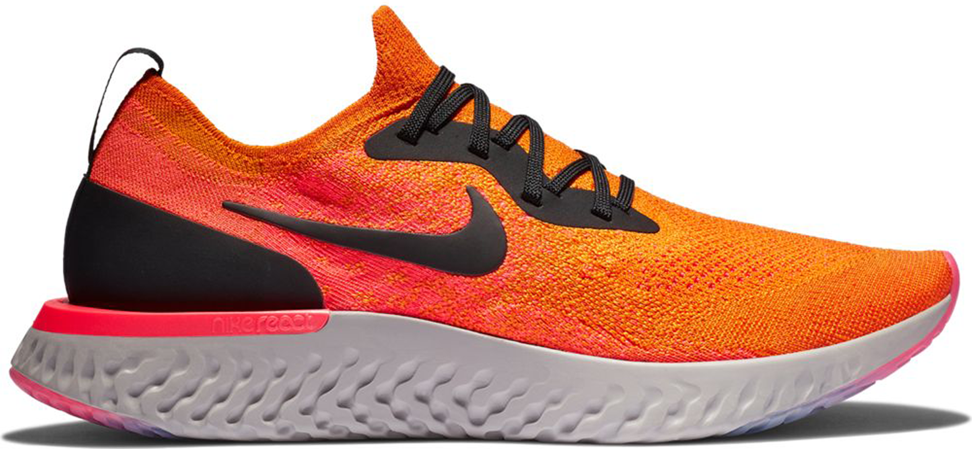 Nike Epic React Flyknit Copper Flash