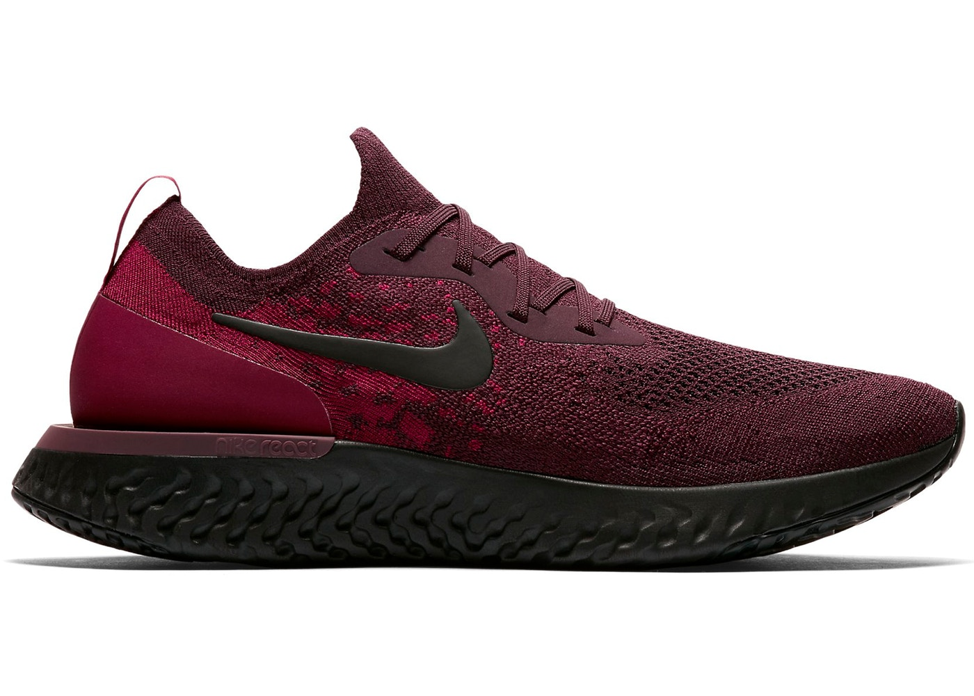 a928113fd75c8 Sell. or Ask. Size  10. View All Bids. Nike Epic React Flyknit Deep Burgundy