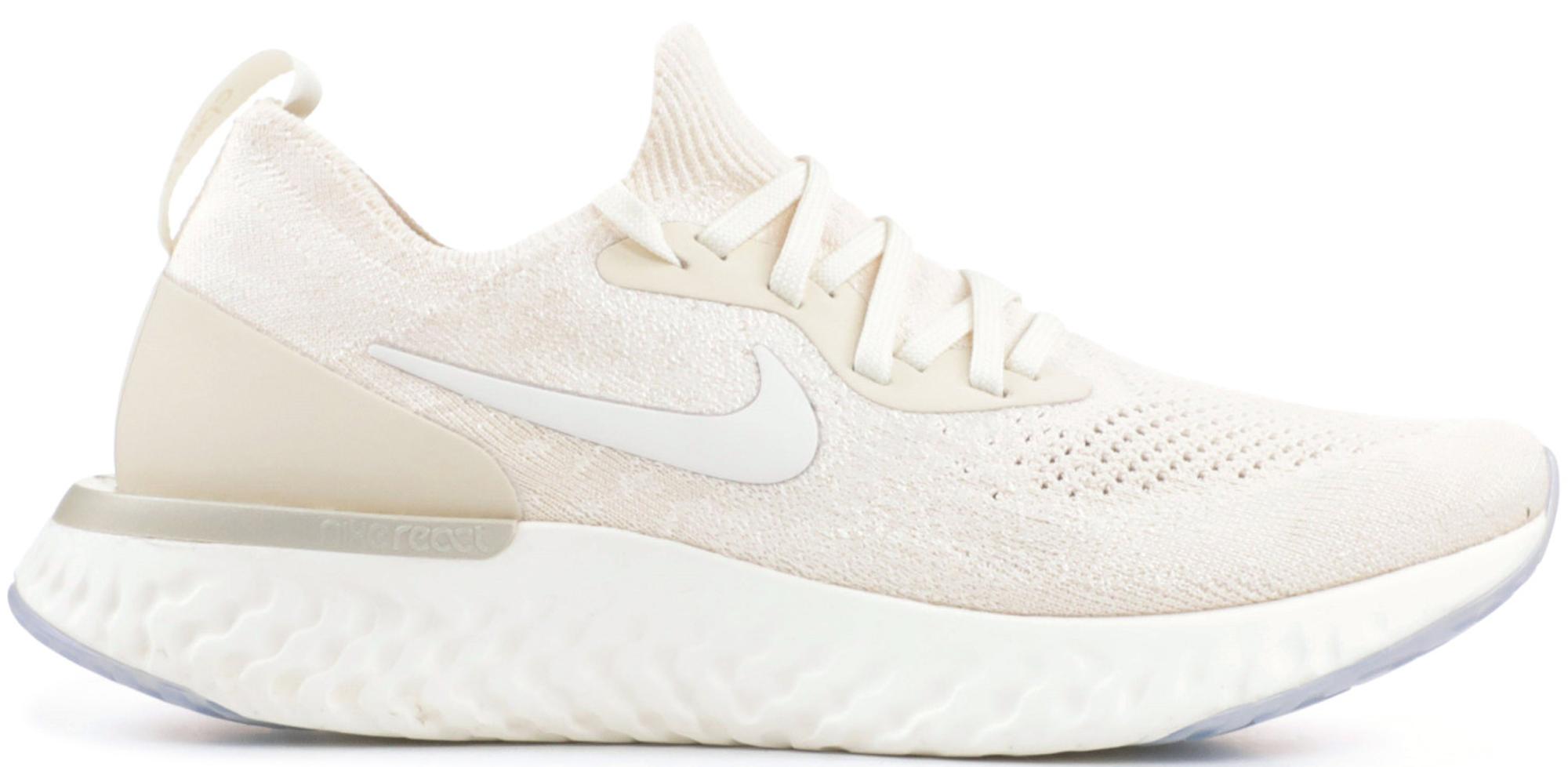 Nike Epic React Flyknit Light Cream (W
