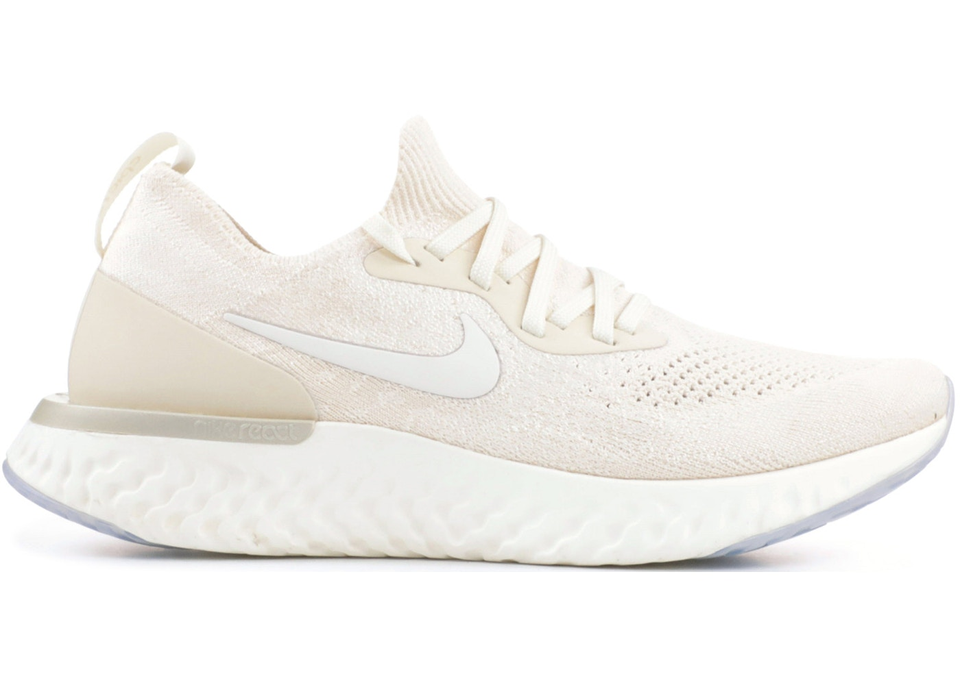 319c0a26a417 Sell. or Ask. Size  7W. View All Bids. Nike Epic React Flyknit Light Cream  ...