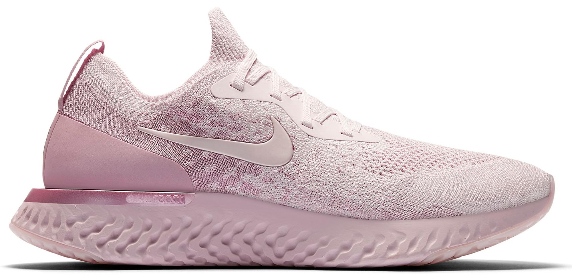 Nike Epic React Flyknit Pearl Pink