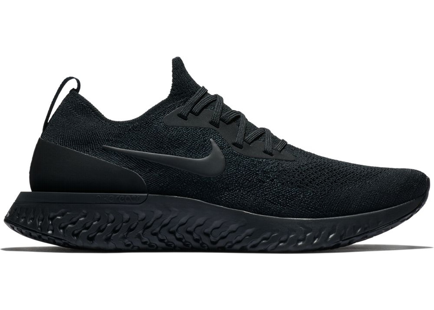 f2ef27f07e12c Nike Epic React Flyknit Triple Black - AQ0067-003