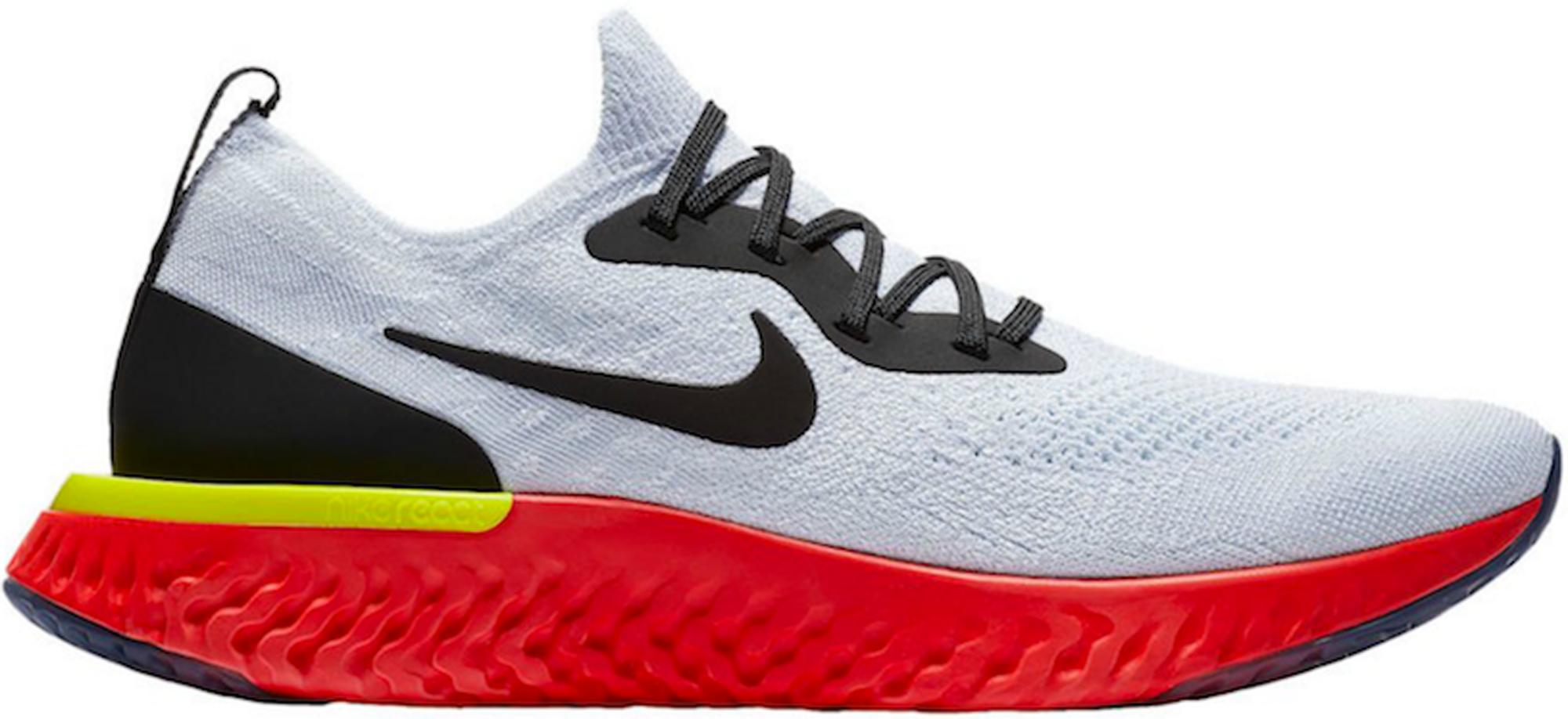 Nike Epic React Flyknit White Bright