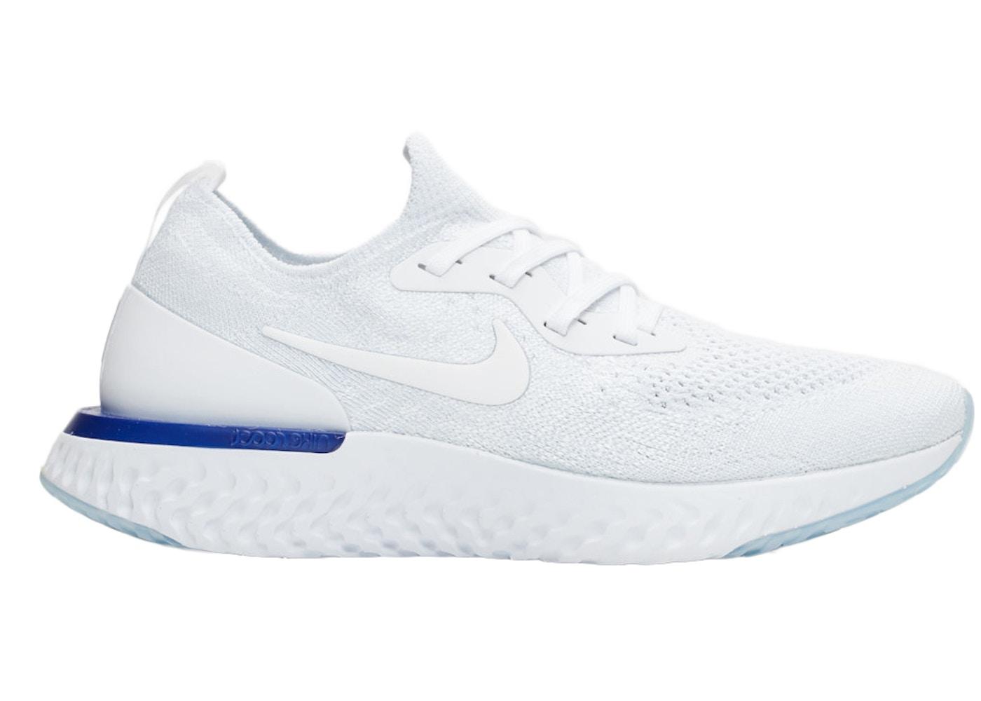 792b15cbda761 Sell. or Ask. Size  11W. View All Bids. Nike Epic React Flyknit White Racer  Blue ...