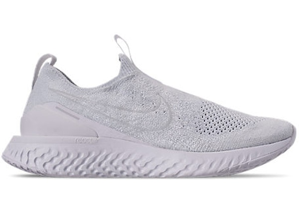 1348fd01 Nike Epic React Moc Flyknit White Pure Platinum