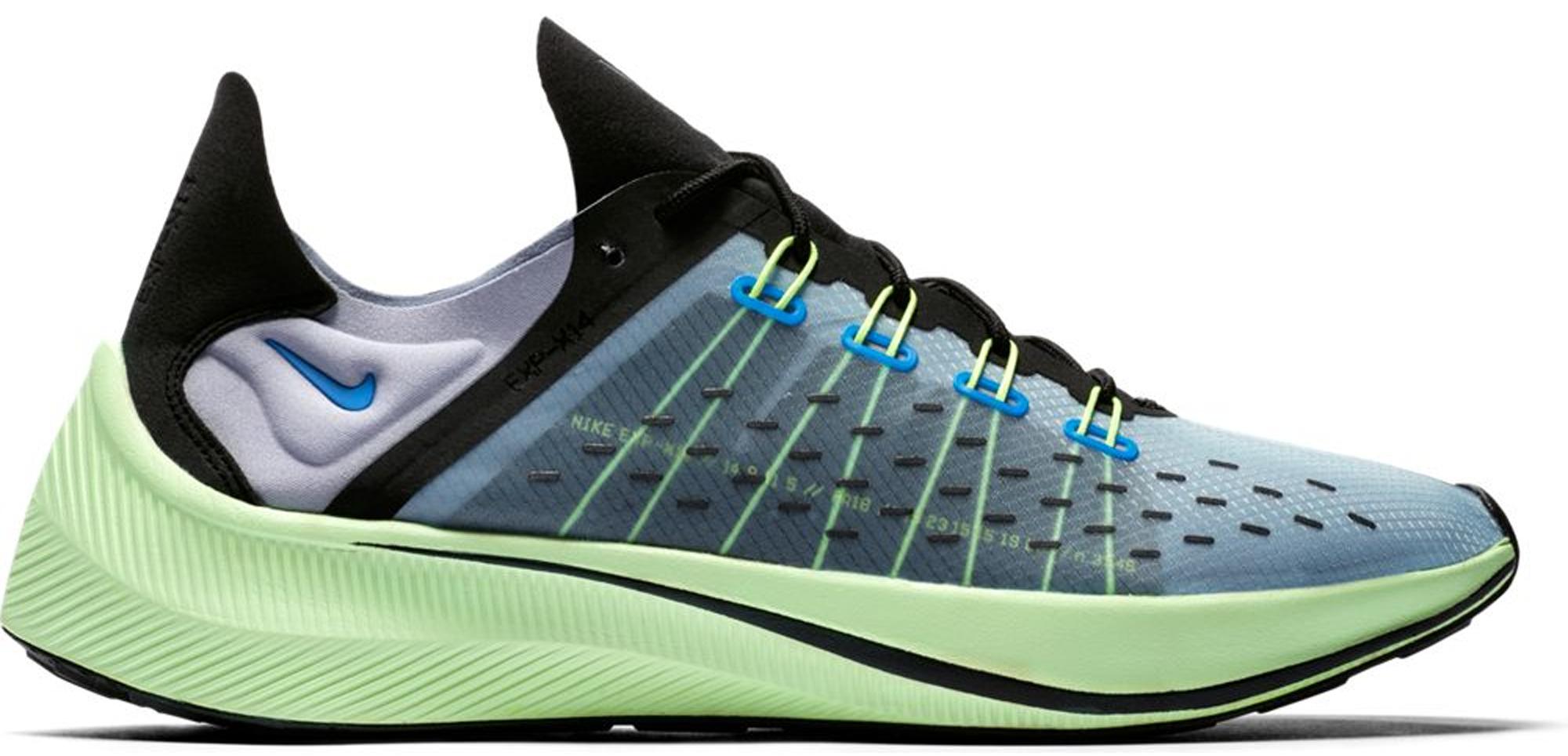 Nike Exp X-14 Photo Blue Volt - AO1554-400