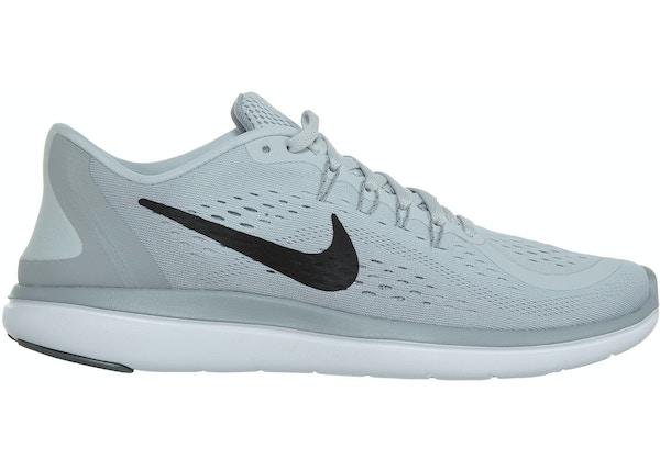 the latest d6830 f3f6f Nike Flex 2017 Rn Pure Platinum/Black-Wolf Grey