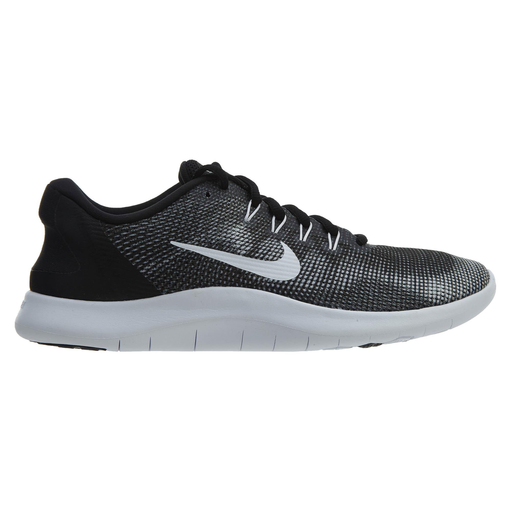 Nike Flex 2018 Rn Black White - AA7397-001
