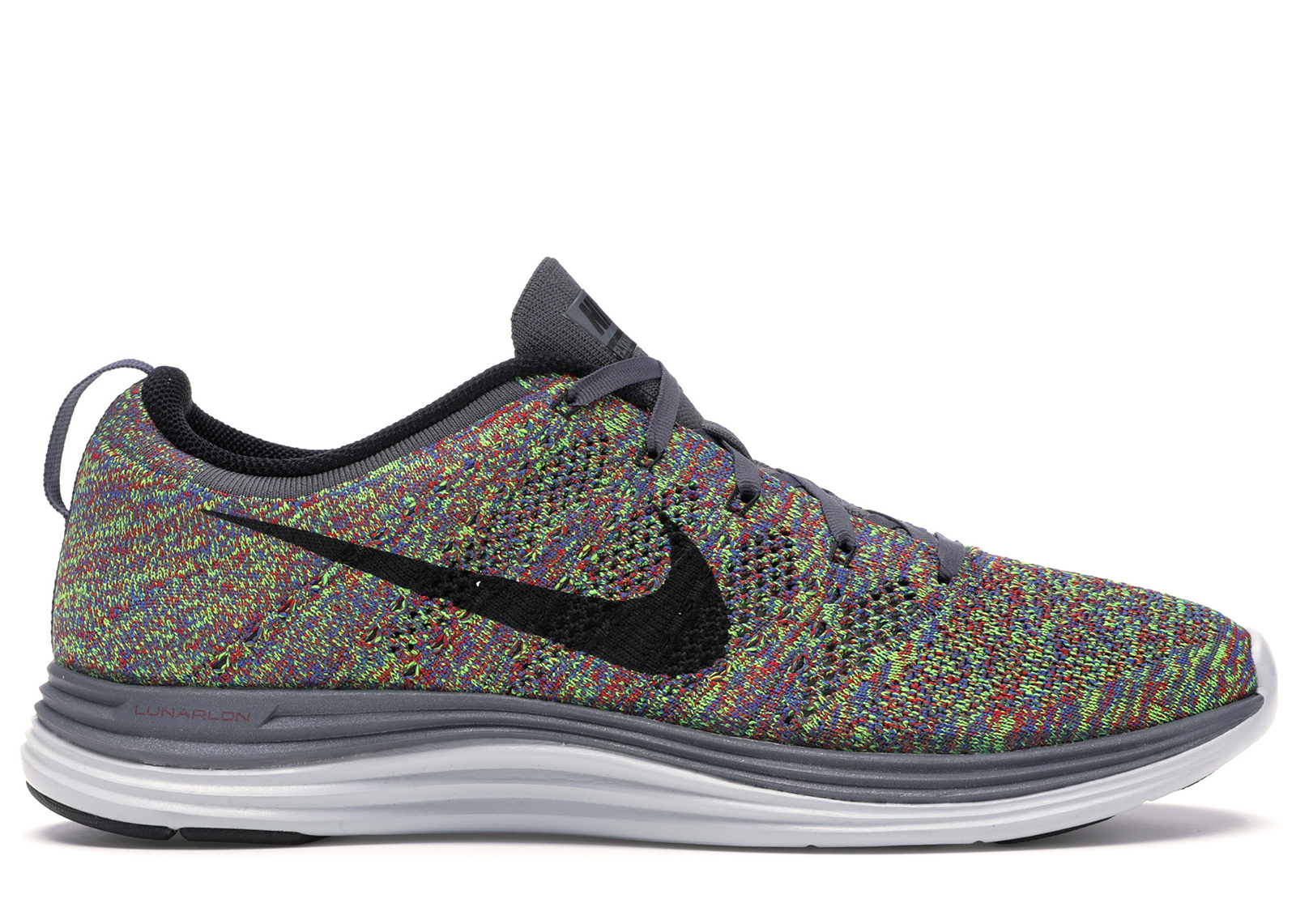 Nike Flyknit Lunar 1 Multi-Color