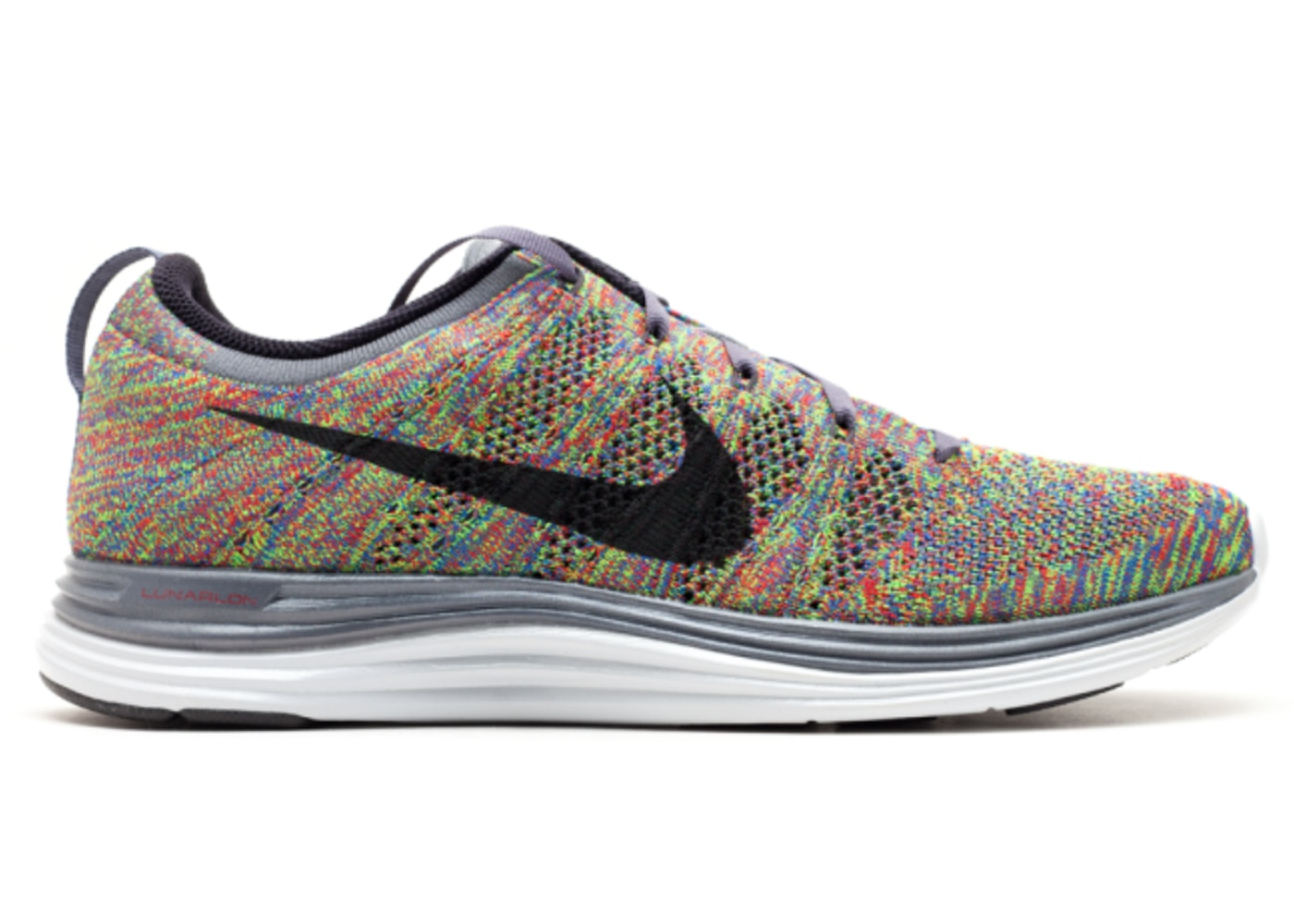 timeless design 9cdac 7a914 Sell. or Ask. Size  11. View All Bids. Nike Flyknit Lunar 1 Multi-Color