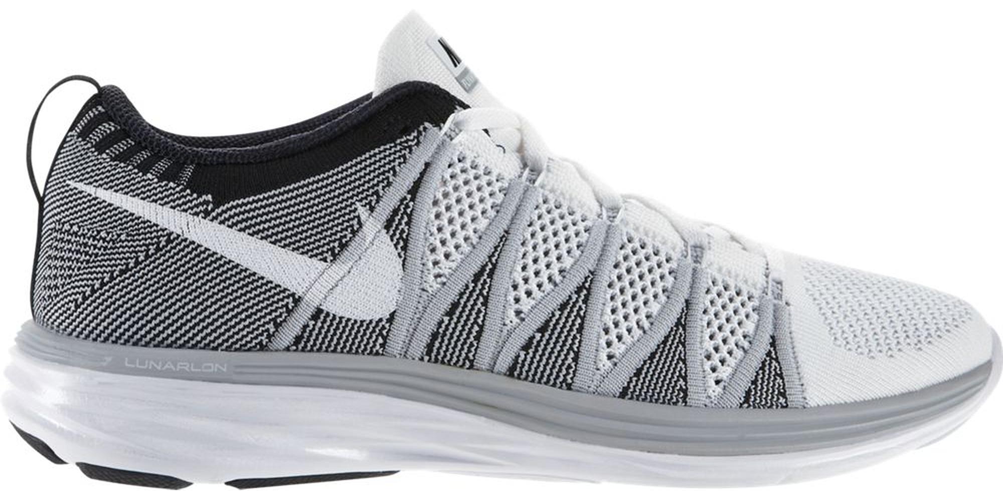 Nike Flyknit Lunar 2 White Wolf Grey