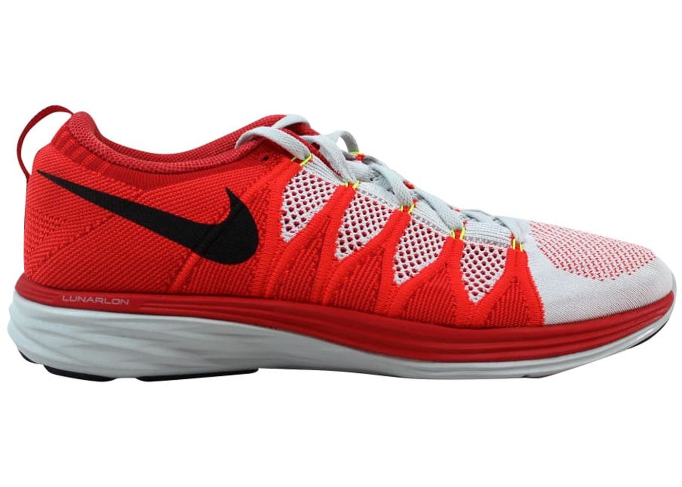 newest f304c 060f9 Sell. or Ask. Size  8.5. View All Bids. Nike Flyknit Lunar2 Pure Platinum  Black-Bright Crimson-University Red