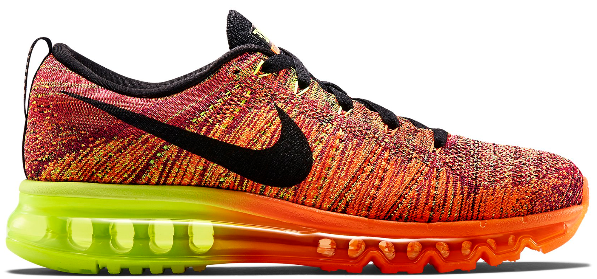 Nike Flyknit Max Total Orange Fireberry