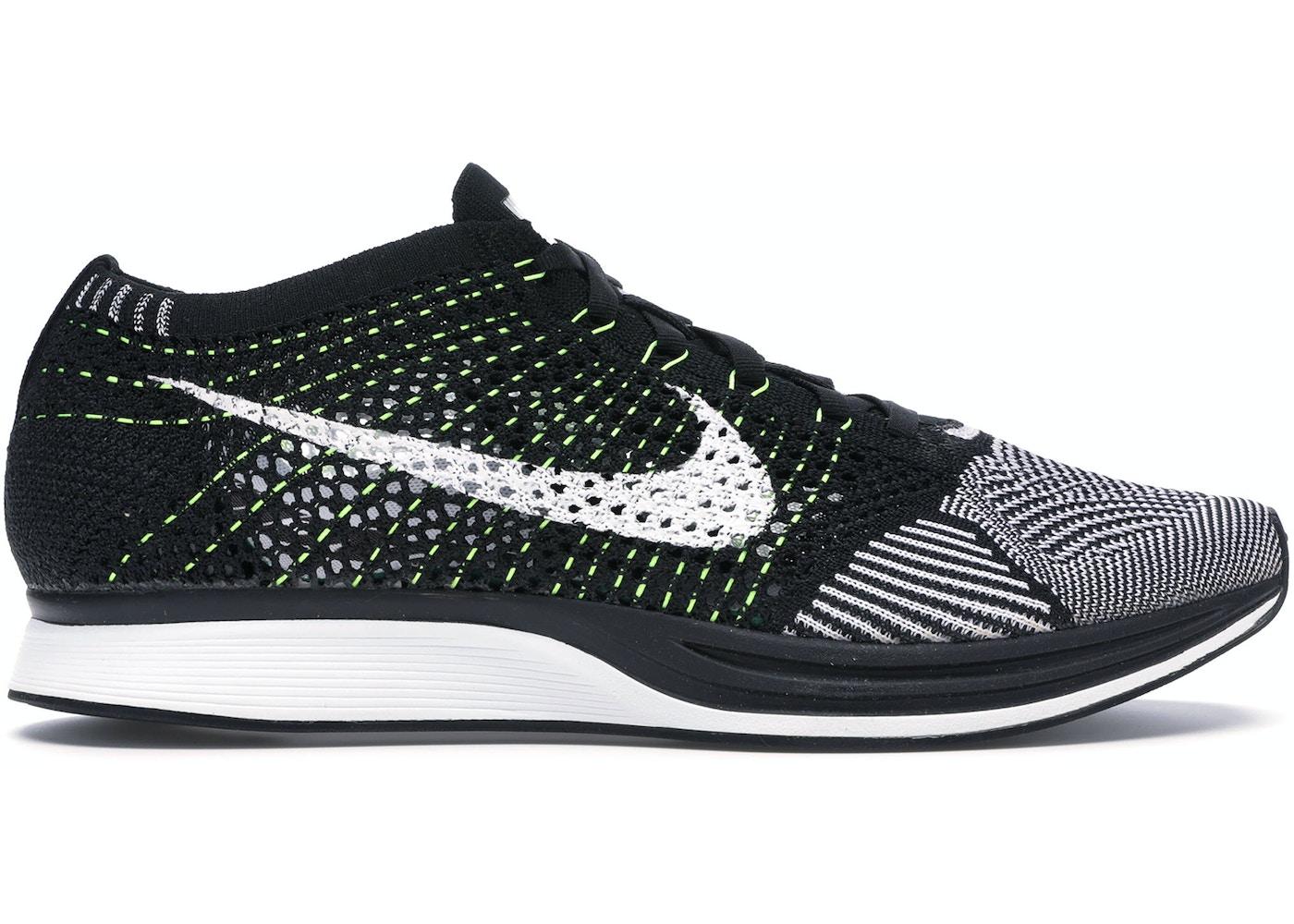 oficjalny dostawca szybka dostawa sklep internetowy Nike Flyknit Racer Black White Volt