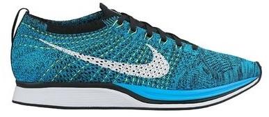 Nike Flyknit Racer Blue Cactus - 526628-402