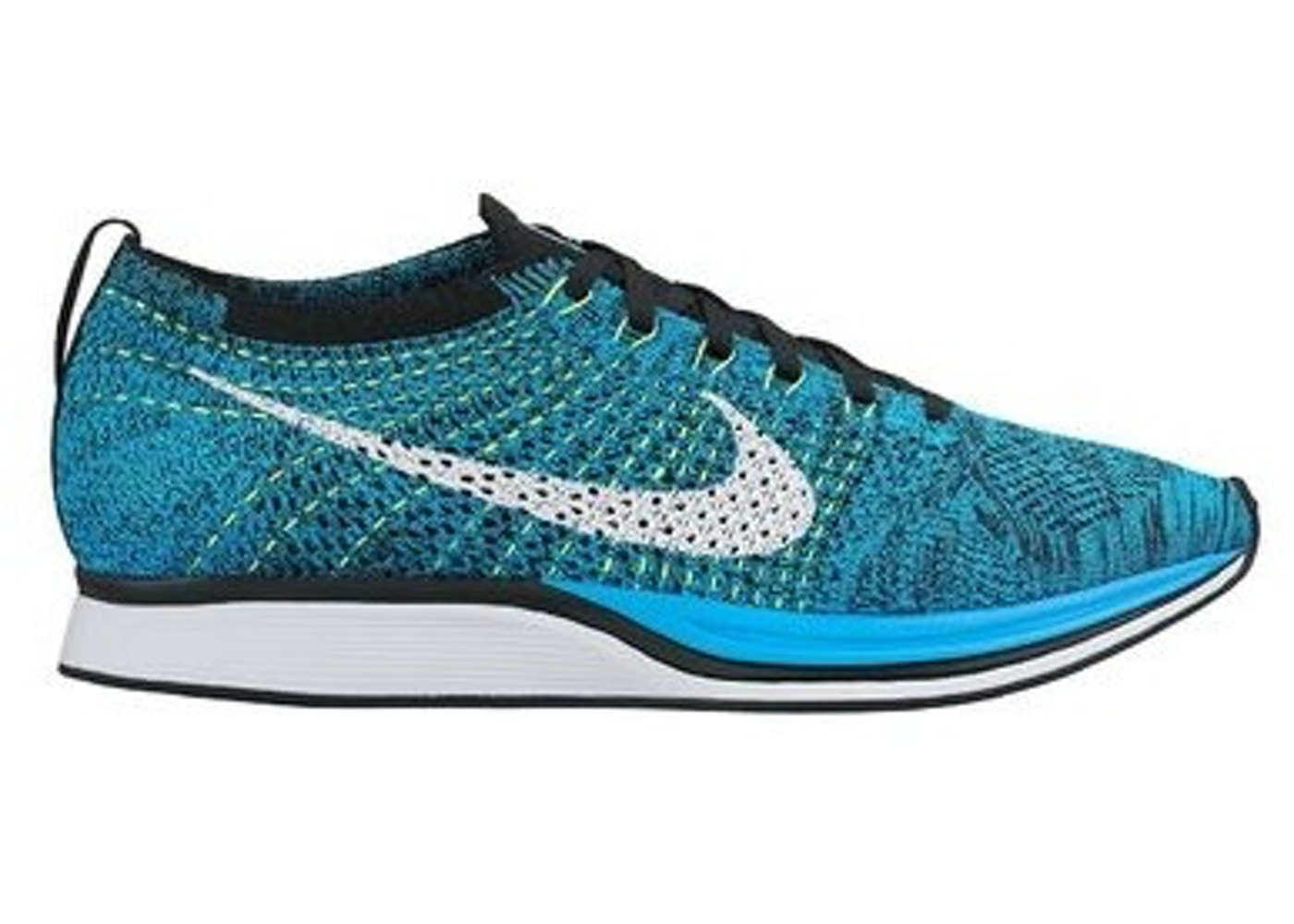 e3d54a5c00b7 Sell. or Ask. Size  10. View All Bids. Nike Flyknit Racer Blue Cactus