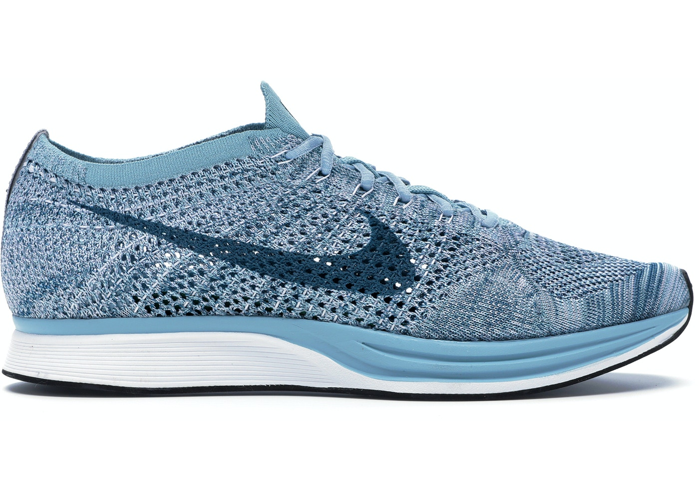 cheap for discount 44edf b4c9e Nike Flyknit Racer Blueberry - 526628-102