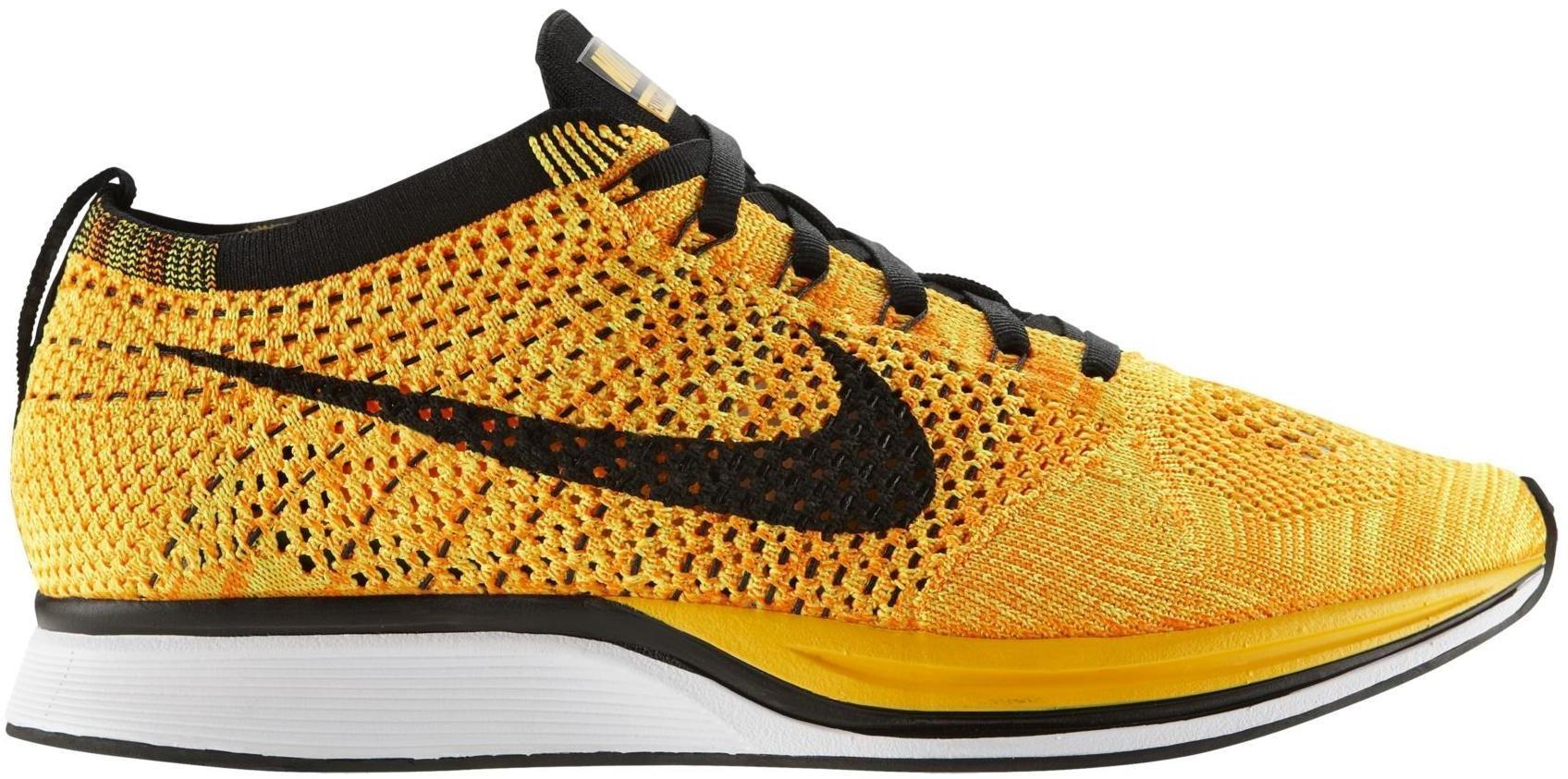 7d4cd4140fb4 nike flyknit runner yellow kd shoes