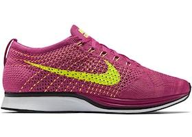 45df7e743b71 Nike Flyknit Racer Fireberry - 526628-607