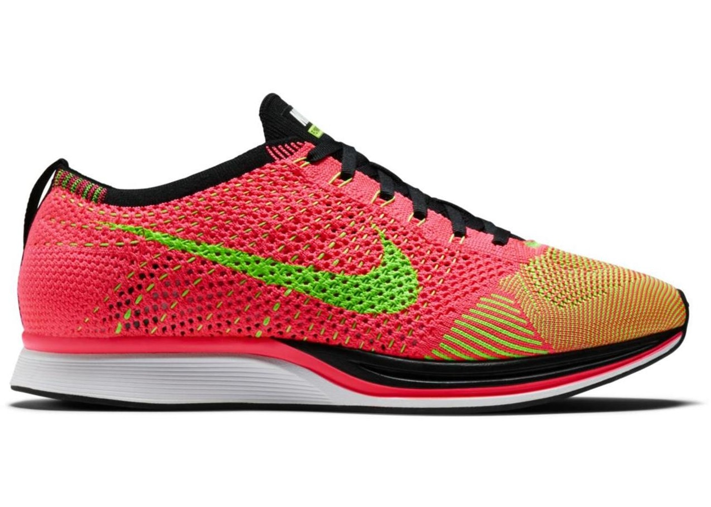 promo code f8d1a e8e3f Nike Flyknit Racer Hyper Punch - 526628-603
