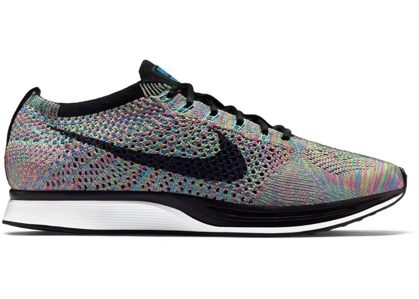 8ed1a36763752 Nike Flyknit Racer Multi-Color 2.0 (2015 2017) - 526628-304