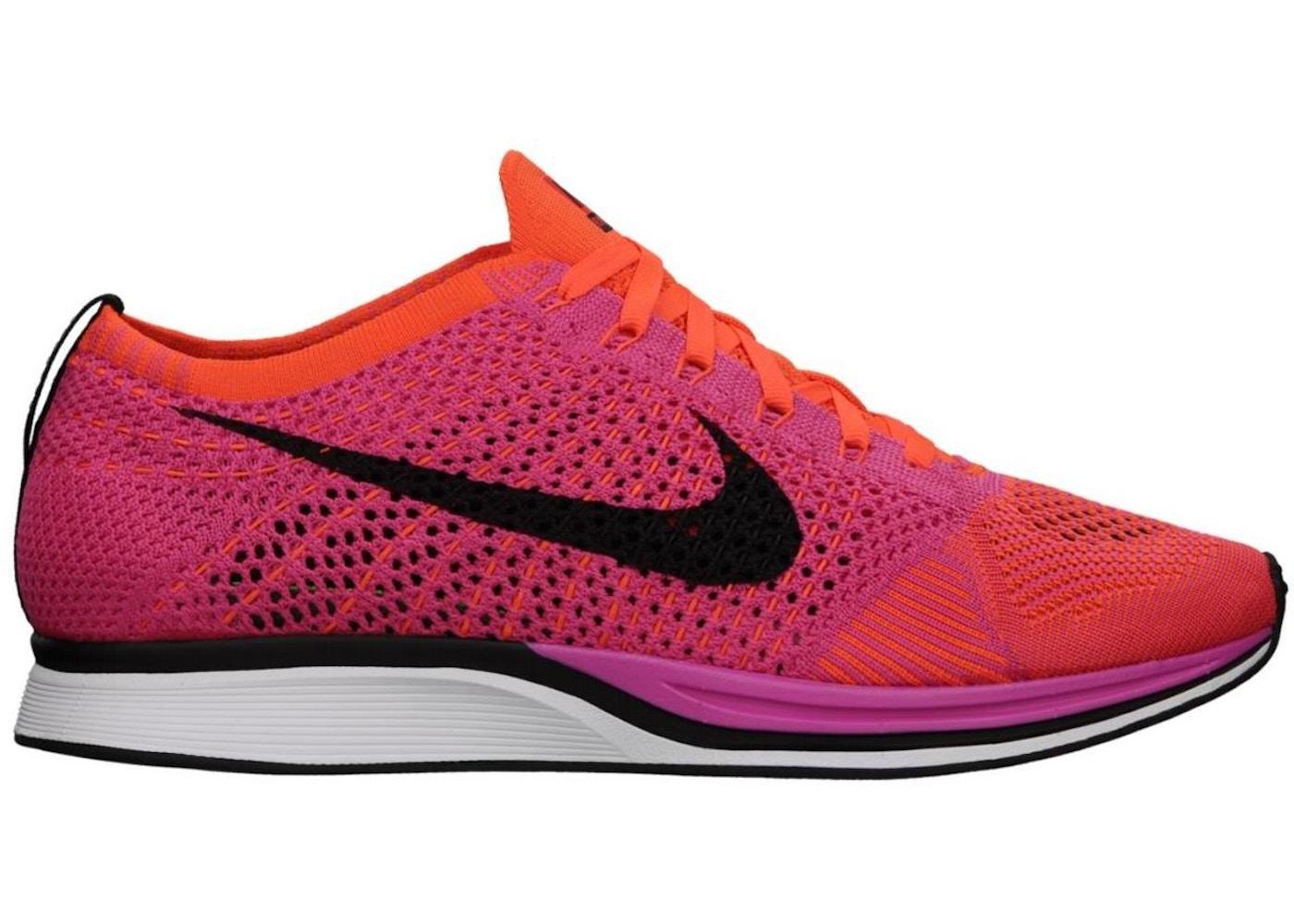 06e48e44b3dc Nike Flyknit Racer Pink Flash - 526628-600