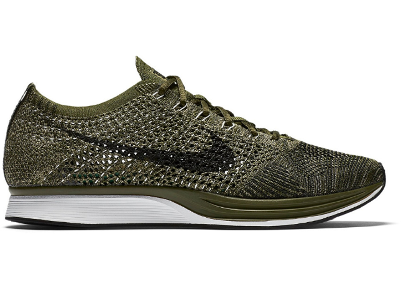 91a455137eb3c Nike Flyknit Racer Rough Green - 862713-300