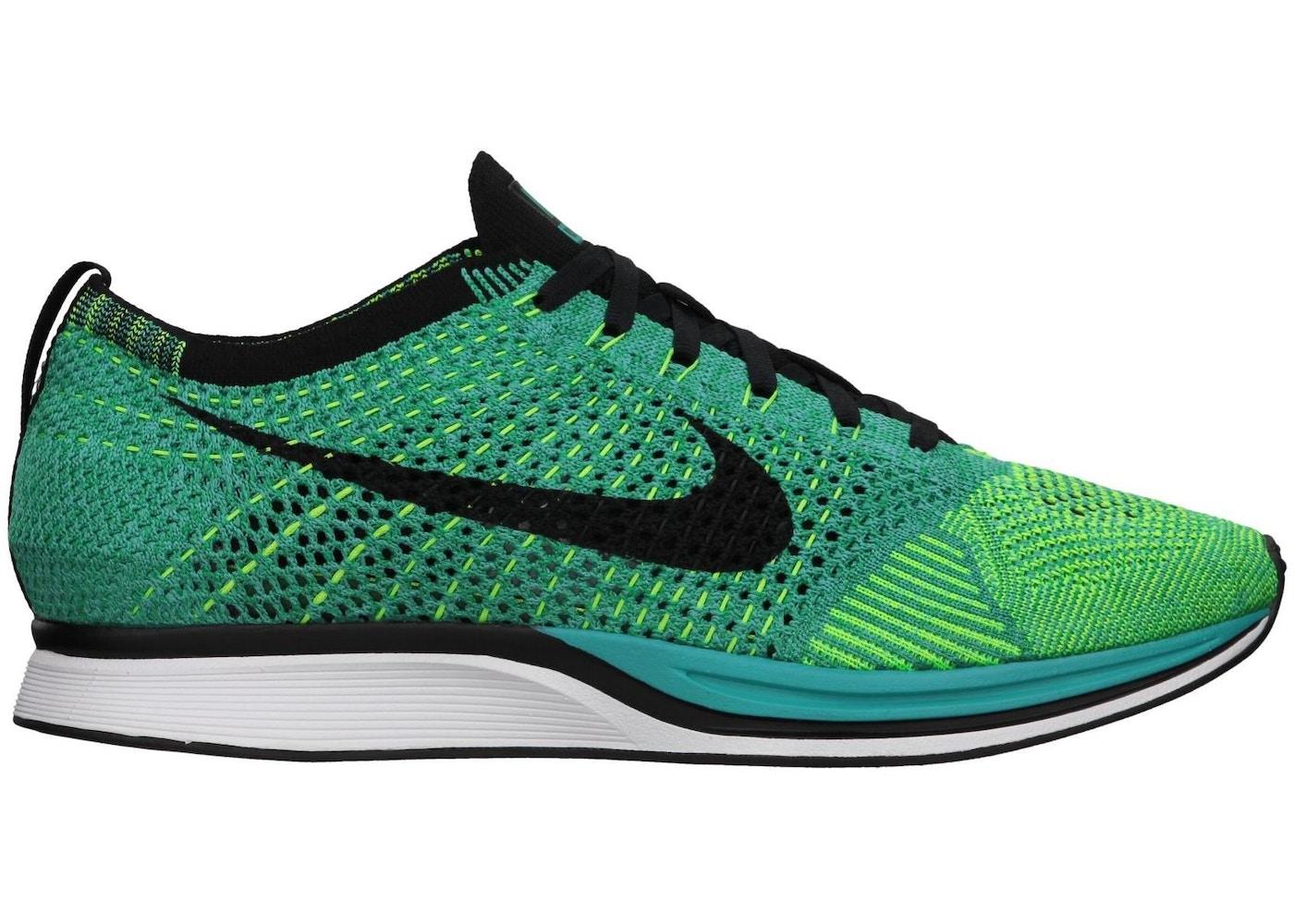online store 0cc14 7b46d Nike Flyknit Racer Sport Turquoise Lucid Green - 526628-300