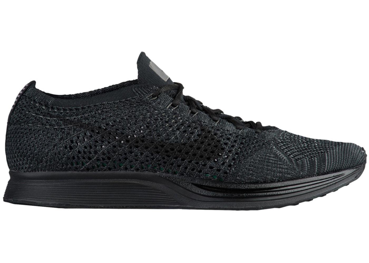 be33e6f3d1f8 Nike Flyknit Racer Triple Black - 526628-009
