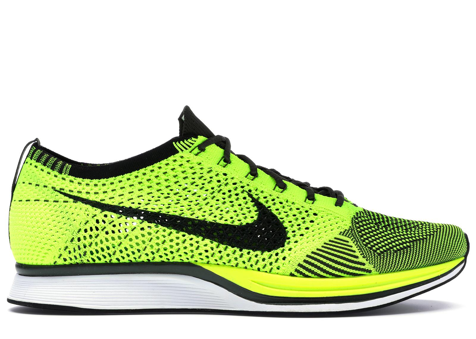 Nike Flyknit Racer Volt (2013) - 526628-721