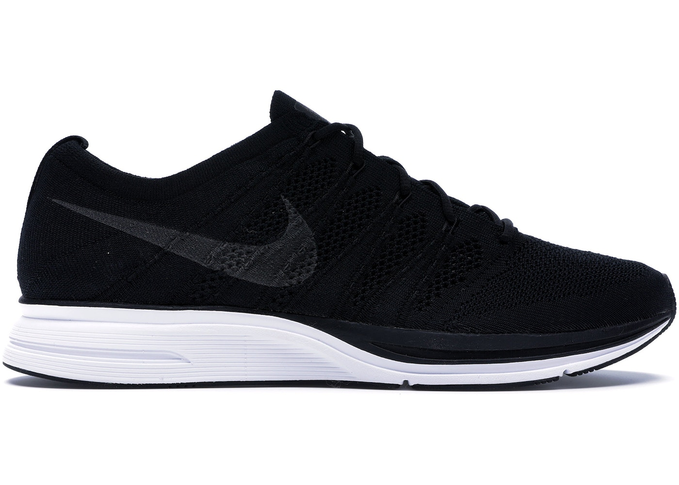 7223a586700a7 Nike Flyknit Trainer Black White (2018) - AH8396-007