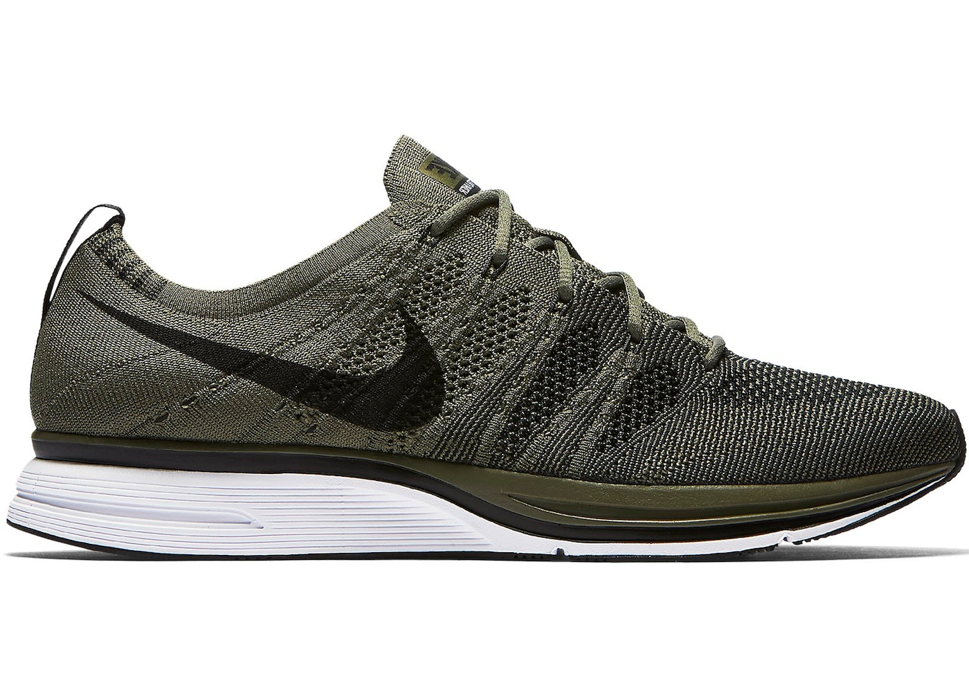 size 40 75755 d8305 Flyknit Trainer Medium Olive