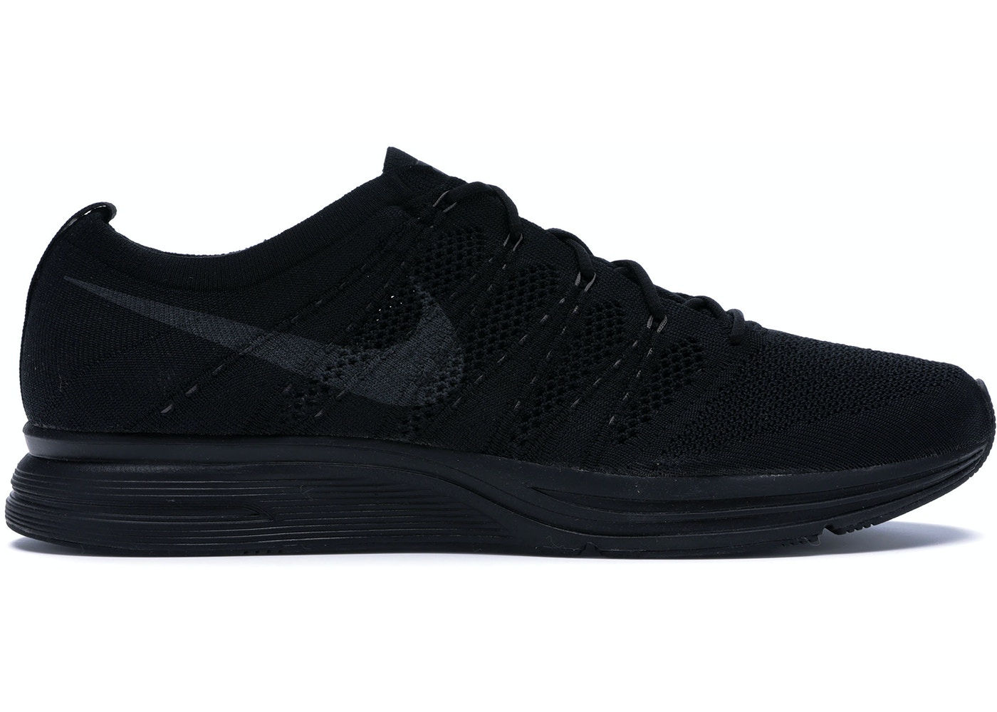 4329a270dd79f Flyknit Trainer Triple Black - AH8396-004