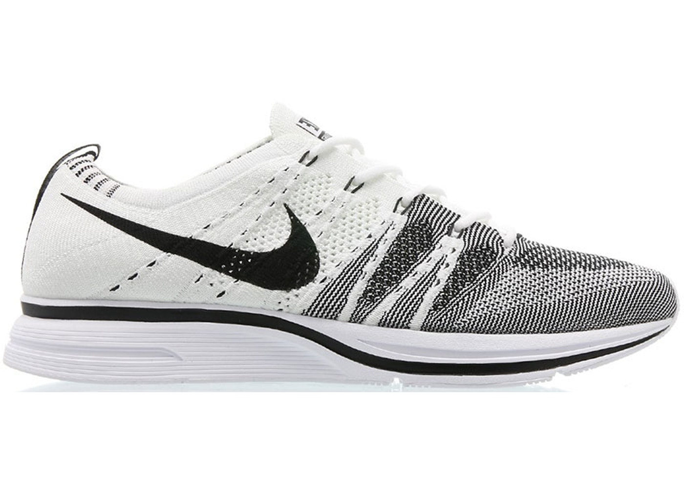 cheaper cdce9 8b63c Flyknit Trainer White Black (2017) - AH8396-100