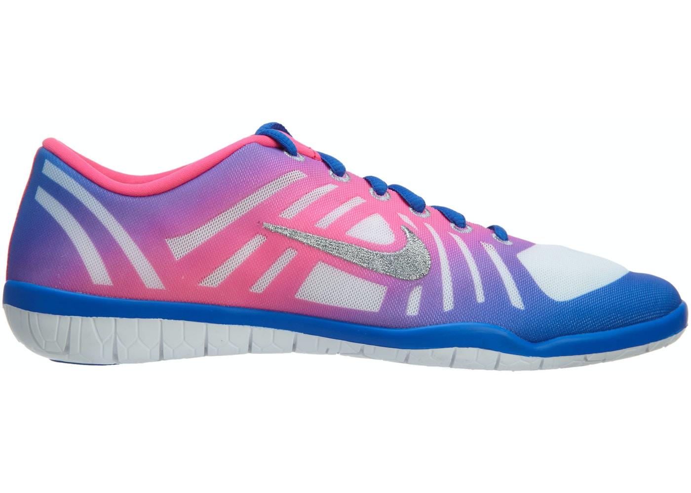 f598a613fba9 Nike Free 3.0 Studio Dance P Hyper Cobalt Metallic Silver-Hyper Pink ...