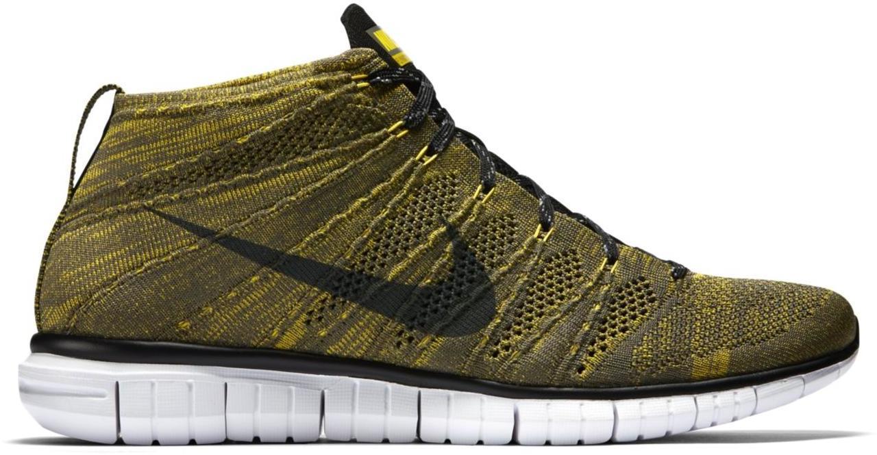 Nike Free Flyknit Chukka Tarp Green