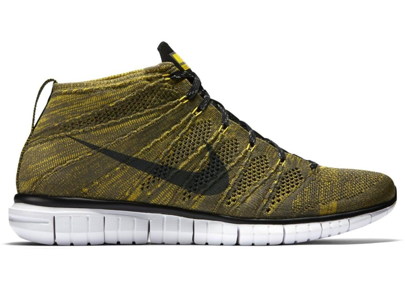 online retailer 82bd0 5056e Sell. or Ask. Size  11. View All Bids. Nike Free Flyknit Chukka Tarp Green  Gold