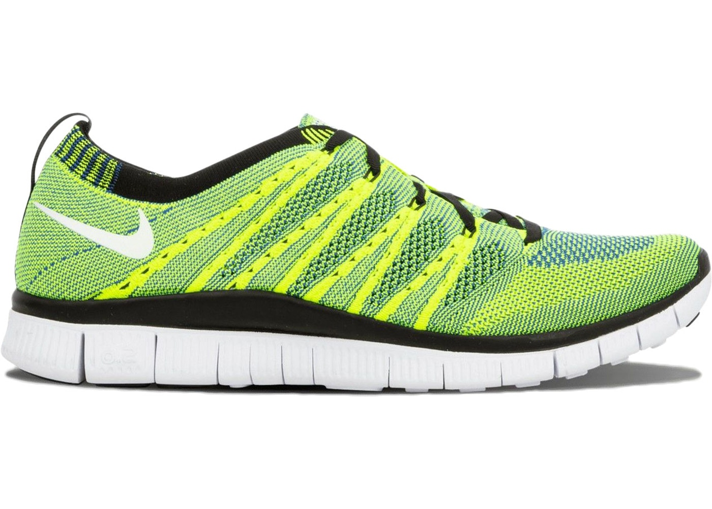 reputable site d5774 93f11 Nike Free Flyknit HTM Volt - 616171-740