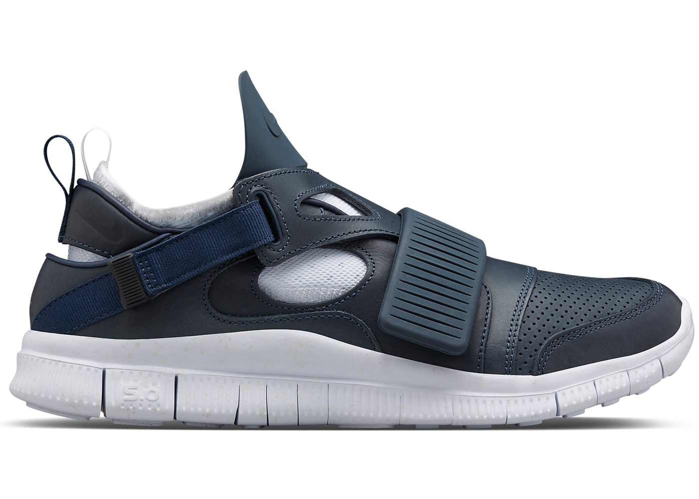 reputable site 0beb8 8e44d Nike Free Huarache Carnivore Obsidian White