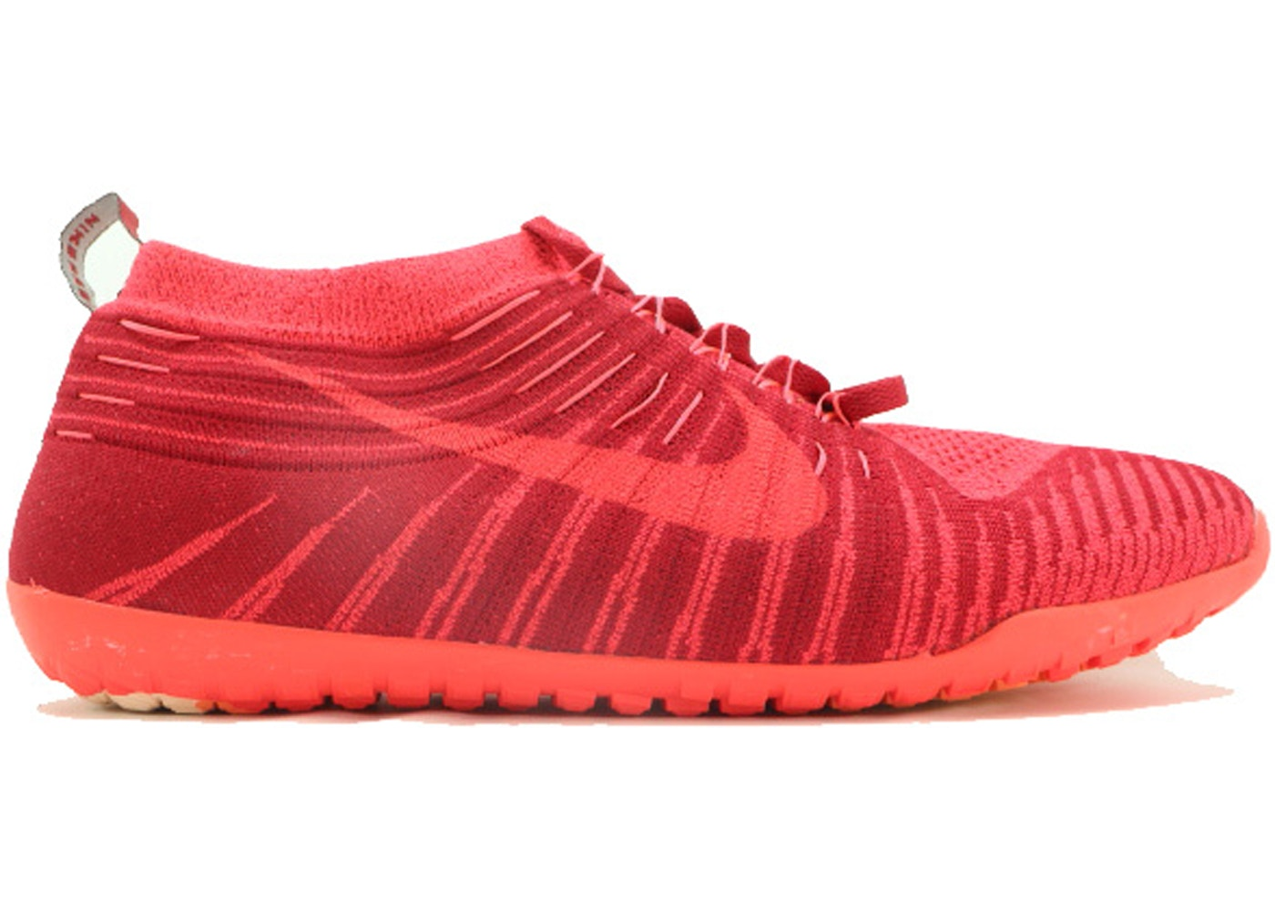 super popular bc58a e6b20 Nike Free Hyperfeel Run Gym Red - 596249-668
