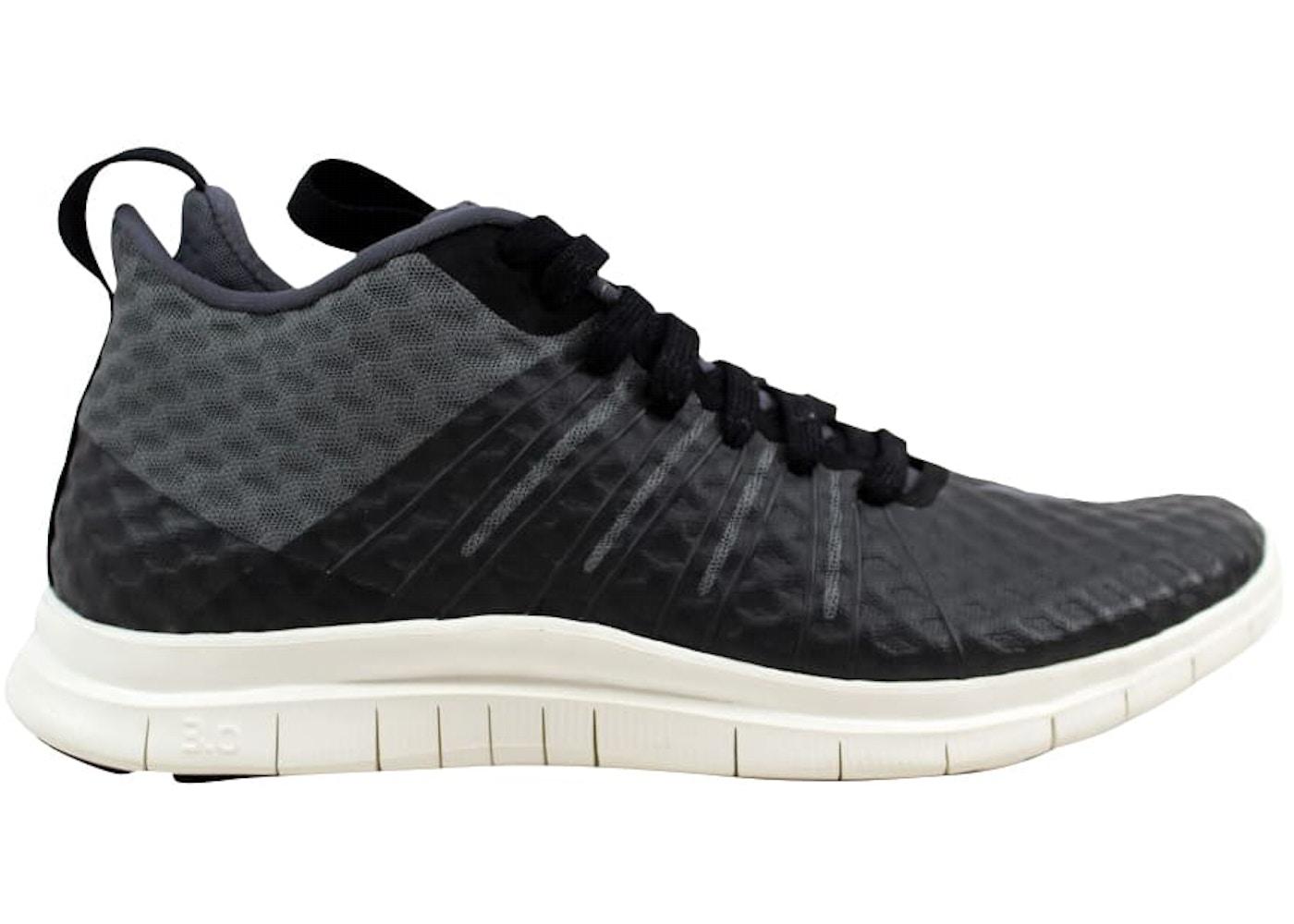 free shipping 774d3 4ef56 Nike Free Hypervenom 2 FS Black Dark Grey-Ivory - 805890-001