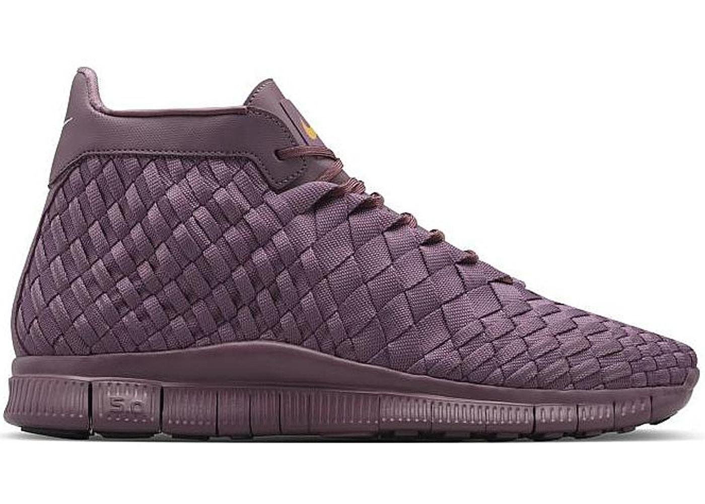 new concept 8daa4 1c03d Nike Free Inneva Woven Mid Purple - 800907-550